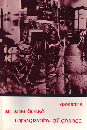 cover of Daniel Spoerri's An Anecdoted Topography of Chance, 1966.