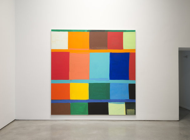 View of Stanley Whitney's 2013 show at Team Gallery, New York.