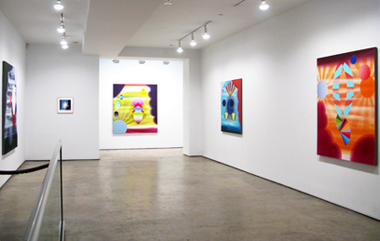 View of 2010 Stephen Mueller Exhibition, at Lennon Weinberg, New York.